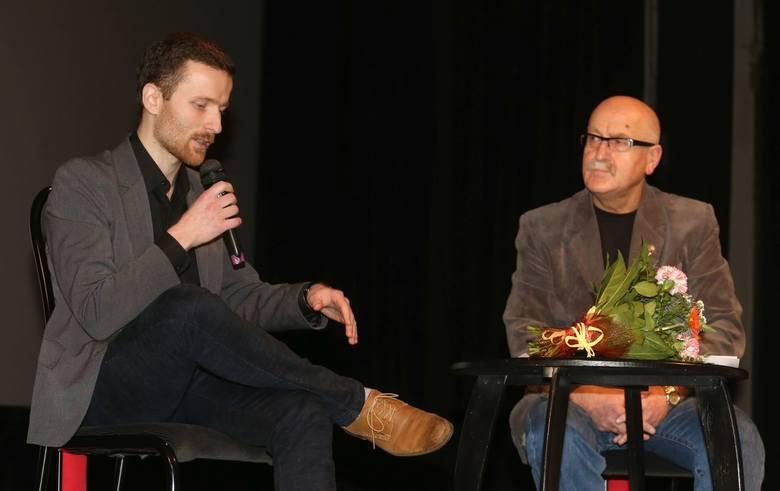 To był niecodzienny poniedziałek w Dyskusyjnym Klubie Filmowym, bo gościem był Maciej Jarczyński, chojniczanin.