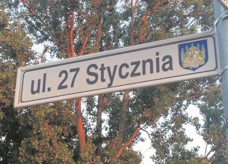 Grodzisk Wielkopolski: Decyzja wojewody uchylona. Ulica 27 Stycznia nie zmieni nazwy