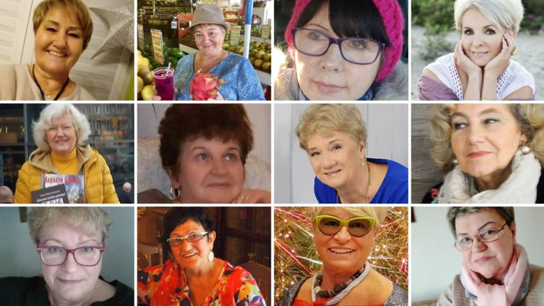 Kobieca Twarz Pomorza. Galeria zdjęć seniorek, zgłoszonych do plebiscytu