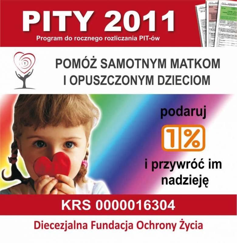 Plakat kampanii Diecezjalna Fundacja Ochrony Życia.