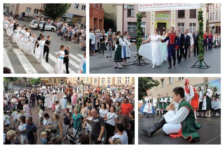 216 par zatańczyło poloneza na ulicach Trzemeszna [zdjęcia]