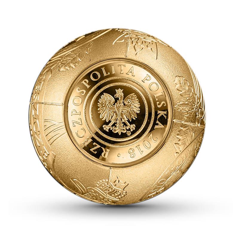 NBP wypuszcza monety-kule oraz złotą złotówkę. Emisja ma związek z 100 rocznicą odzyskania niepodległości przez Polskę. Monety pojawią się w obiegu 7