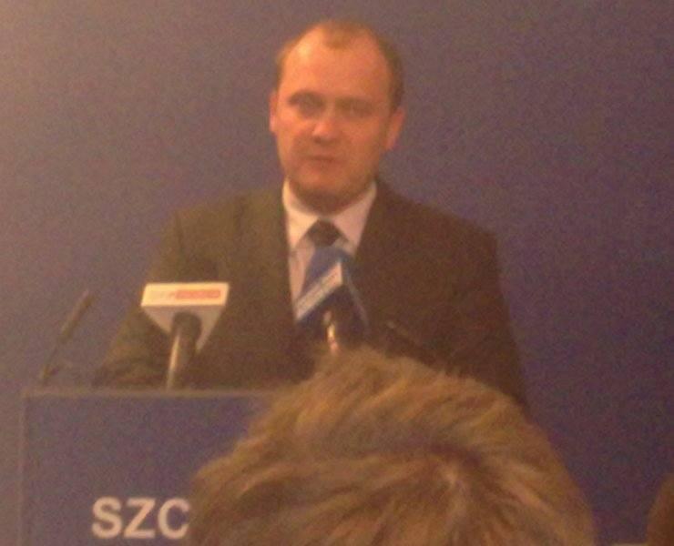 Prezydent Szczecina Piotr Krzystek.