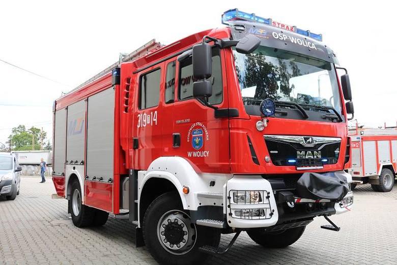Strażacki wóz ratowniczo gaśniczy dla OSP w Wolicy