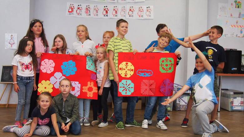 Półkolonie w Ostrołęckiej Spółdzielni Mieszkaniowej, lipiec 2019
