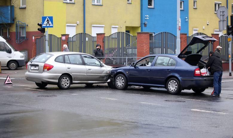 Wypadek na skrzyżowaniu Milionowej i Przędzalnianej [ZDJĘCIA]