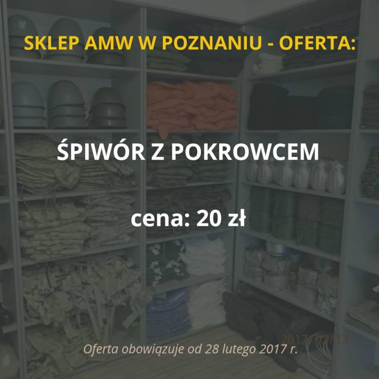 Sklep Agencji Mienia Wojskowego w Poznaniu zostanie otwarty 28 lutego. Placówka przy ul. Dojazd 30 będzie czynna we wtorki i czwartki od godz. 9 do 13.