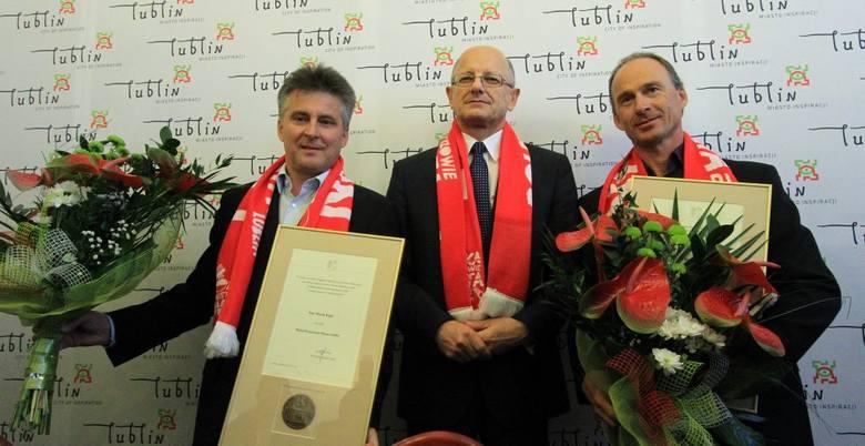 Hans Nielsen i Marek Kępa odznaczeni przez prezydenta Lublina