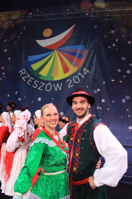 Marta Klich z Kanady i Krzysztof Rakowski z Anglii poznali się i pokochali w Rzeszowie podczas poprzedniej edycji festiwalu. W maju tego roku wzięli