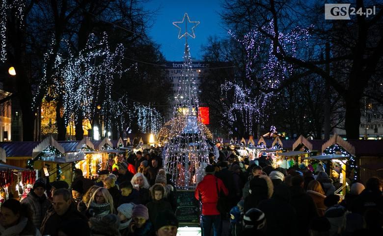 Trwa Jarmark Bożonarodzeniowy w Szczecinie [DUŻO ZDJĘĆ, WIDEO]