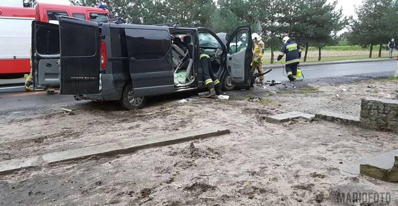 W Zdzieszowicach zderzyły się dwa samochody.