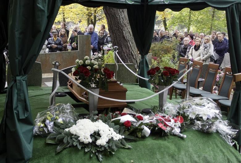 Pogrzeb profesora Andrzeja Zbierskiego