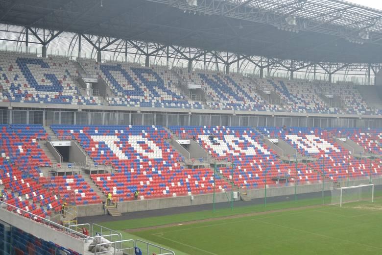 Zwiedziliśmy nowy stadion Górnika Zabrze przed otwarciem [ZDJĘCIA]