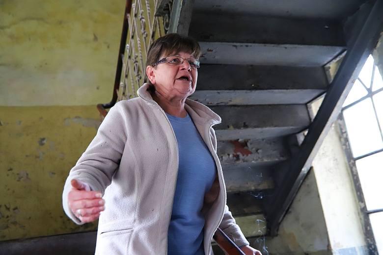 Pani Barbara: Od 1983 roku nie było tu remontu