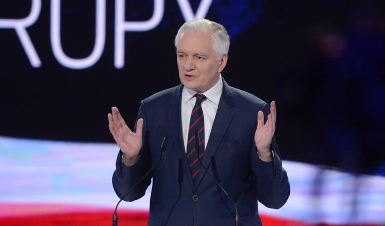 Jarosław Gowin, wicepremier oraz minister nauki i szkolnictwa wyższego, prezes partii Porozumienie