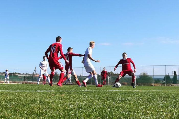 Górnik Zabrze pokonał młodzieżowy zespół Spartaka Moskwa.