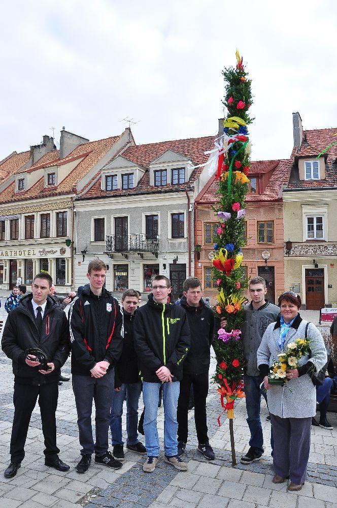 Sandomierz: Niedziela Palmowa z przesłaniem na Światowe Dni Młodzieży