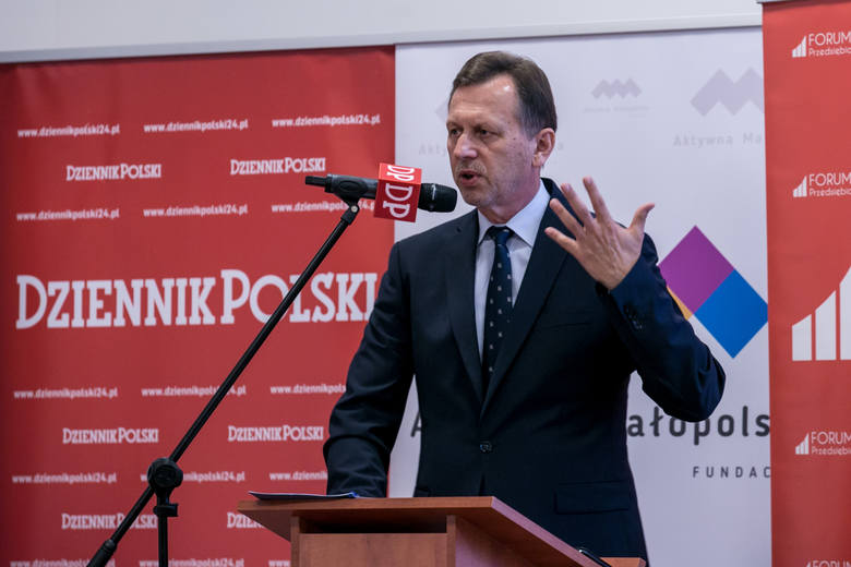 Marszałek wojewodztwa małopolskiego Jacek Krupa