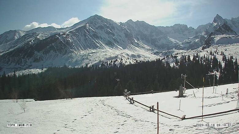 Tatry. W górach pusto i niebezpiecznie. Jest drugi stopień zagrożenia lawinowego