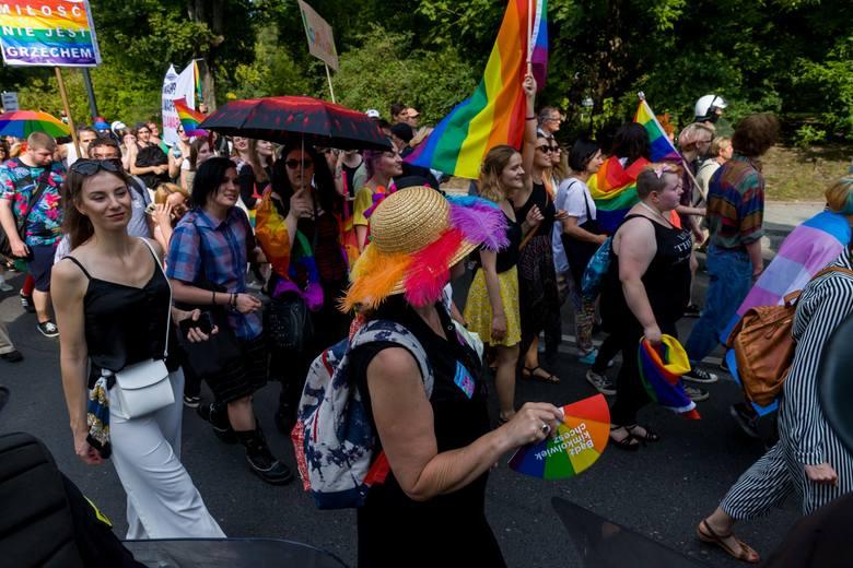Tak wyglądał Marsz Równości w Białymstoku.
