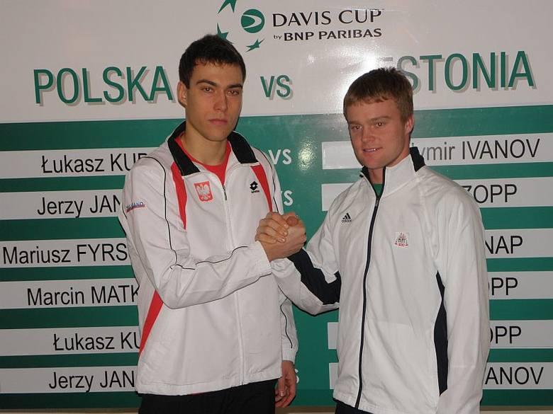 Davis Cup. Przed meczem Polska-Estonia