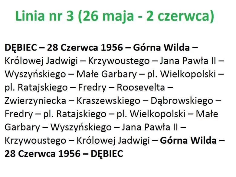 """W czwartek, 26 maja, swoje trasy zmieni aż 10 linii tramwajowych. Jedna linia zostanie zawieszona. Część bimb pojedzie """"dolnym"""" odcinkiem"""