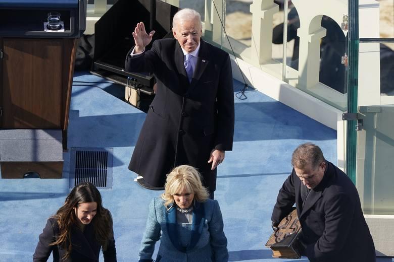 """Joe Biden zaprzysiężony na 46. prezydenta Stanów Zjednoczonych. """"Będę prezydentem wszystkich Amerykanów"""" [WIDEO]"""