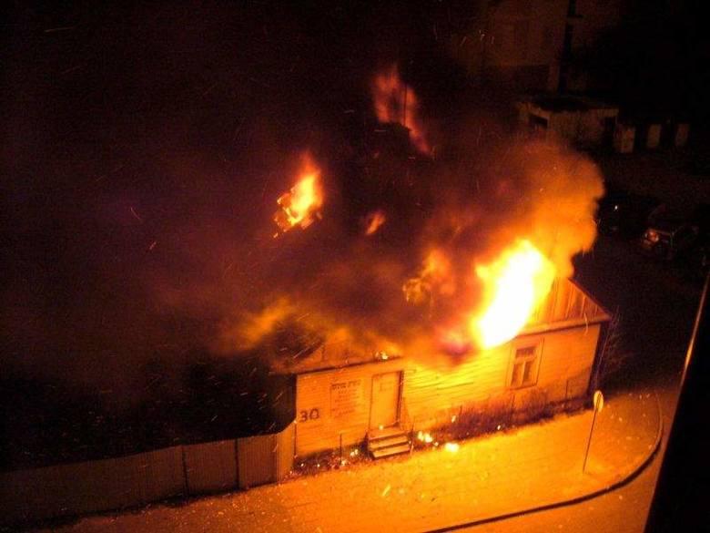 Pożar przy Starobojarskiej 30 zapoczątkował czarną serię