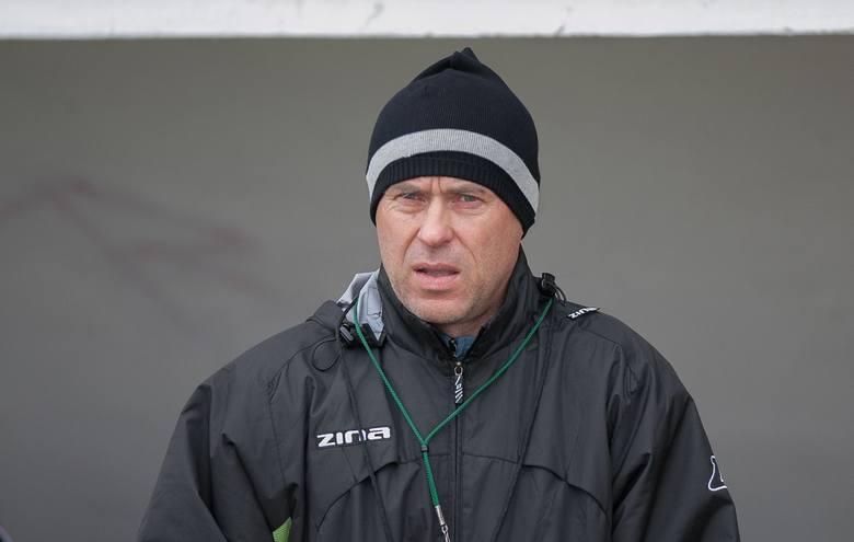 Trener Marek Chojnacki