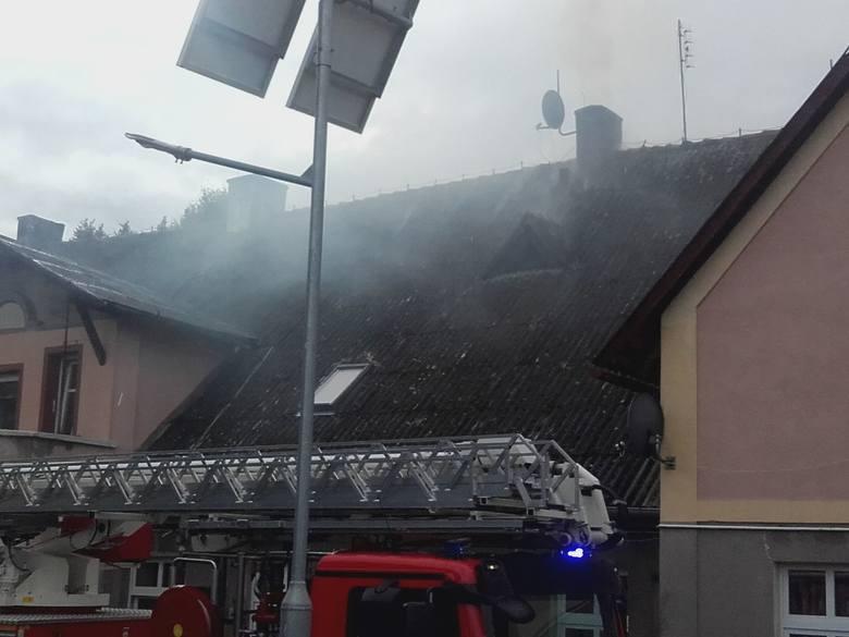 W czwartek popołudniu strażacy OSP Połczyn-Zdrój zostali wezwani do pożaru. - O godz:14:42 zostaliśmy wezwani do miejscowości Wardyń Dolny (gm. Połczyn-Zdrój),