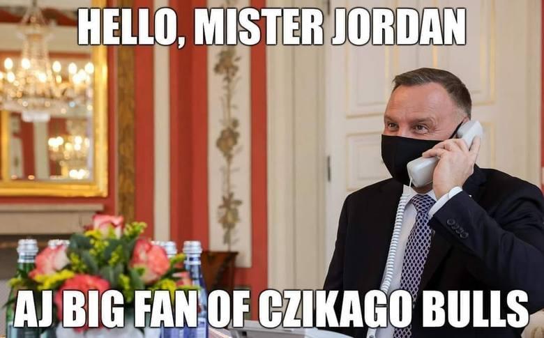 Internet komentuje telefon Andrzeja Dudy do króla Jordanii. Obejrzyj memy na kolejnych slajdach galerii.Zobacz kolejne zdjęcia. Przesuwaj zdjęcia w prawo