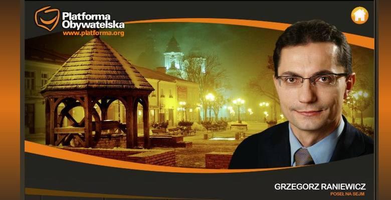 Złotą dziesiątkę otwiera poseł PO. Grzegorz Raniewicz zgromadził na koncie około 250 tys. zł. Nieruchomości i ruchomości posła są warte 7,7 mln zł. Ma