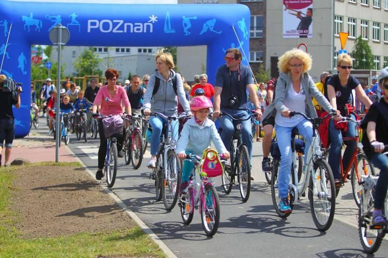 Ścieżka rowerowa z Podolan na Strzeszyn w Poznaniu otwarta!