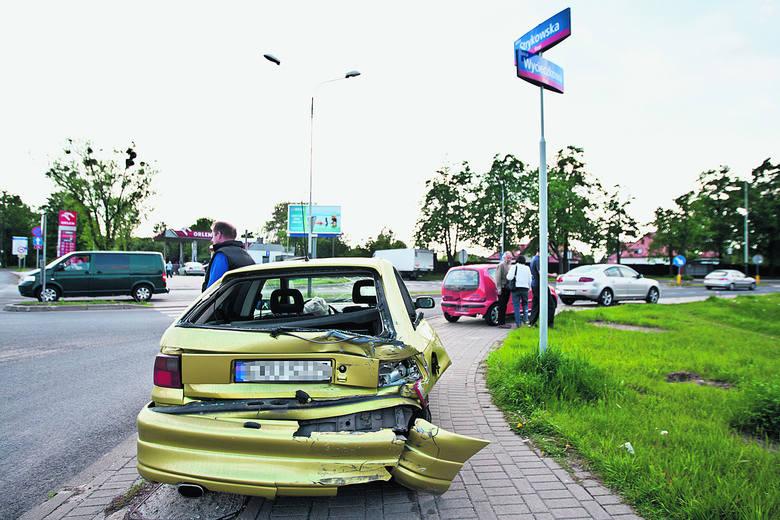 Wypadek na ul. Strykowskiej