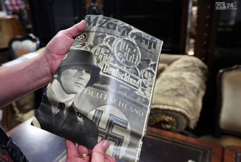 Historyczne odkrycie w Szczecinie: 15 gazet sprzed 80 lat