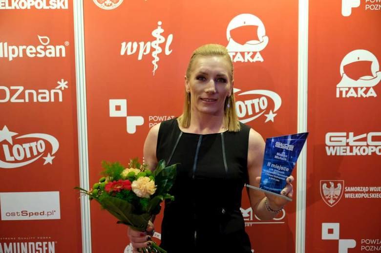 Drugie miejsce zajęła zapaśniczka Grunwaldu Poznań <strong>Monika Michalik</strong>