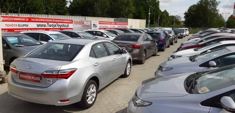 Największy serwis, salon nowych samochodów oraz komis. TOYOTA Słupsk zaprasza