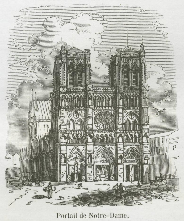 Historia związana z budową świątyni Notre Dame sięga XII wieku, a dokładnie 1163 roku. Był to proces niezwykle długi - budowa trwało niemalże 200 lat.