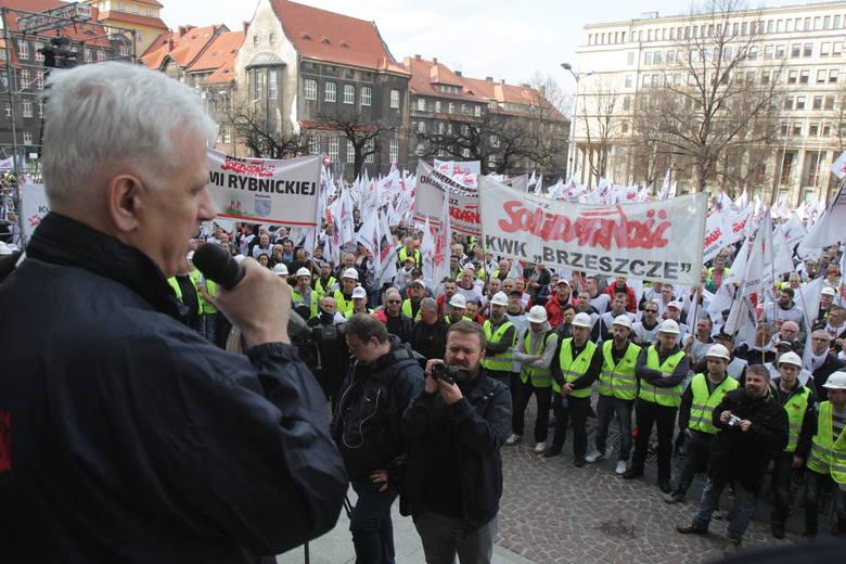 Wielka manifestacja Solidarności w Katowicach, 4 kwietnia 2019