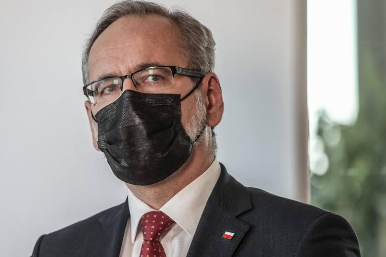 - Może pojawić się taka sytuacja, że wprowadzane kolejne obostrzenia będą miały charakter ogólnopolski- zapowiedział minister zdrowia.
