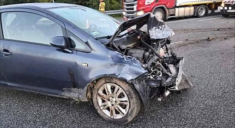 Wypadek na A1