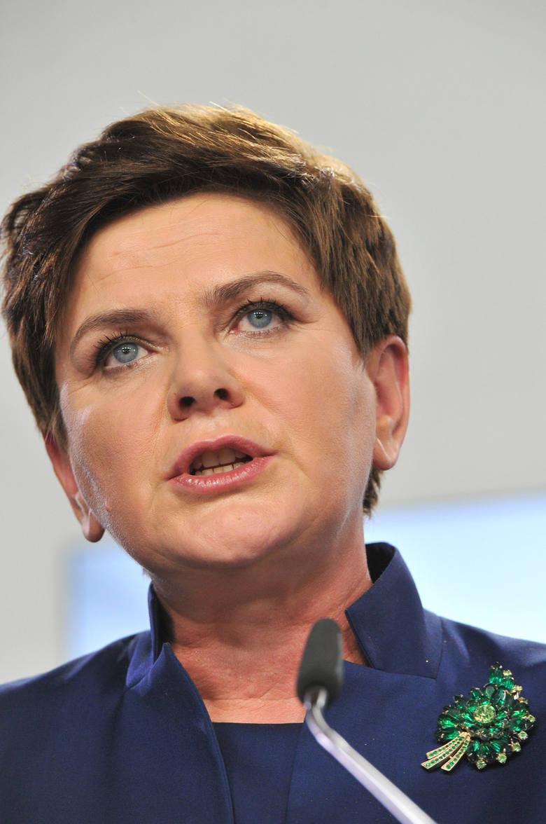 Beata Szydło jest kandydatem PiS na premiera.