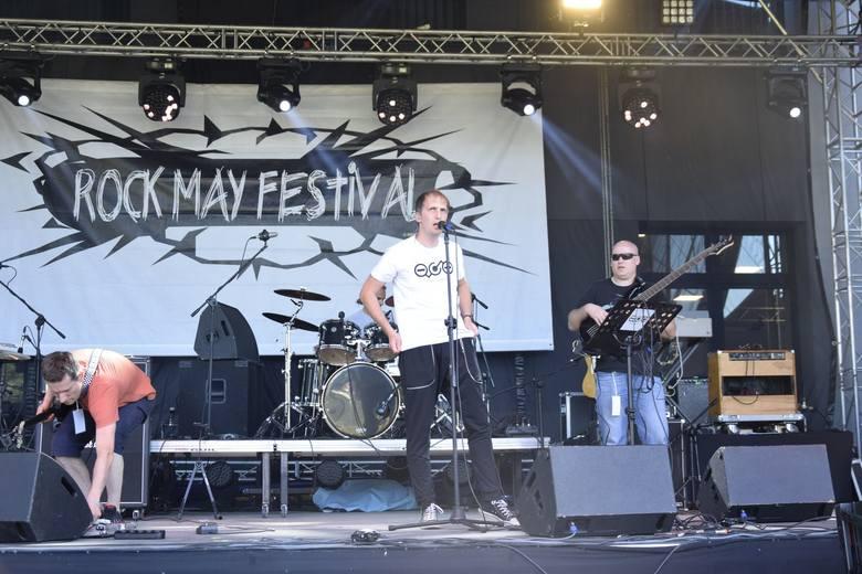 Rock May Festival w Skierniewicach na scenie CKiS. Trwa konkurs zespołów muzycznych [ZDJĘCIA]