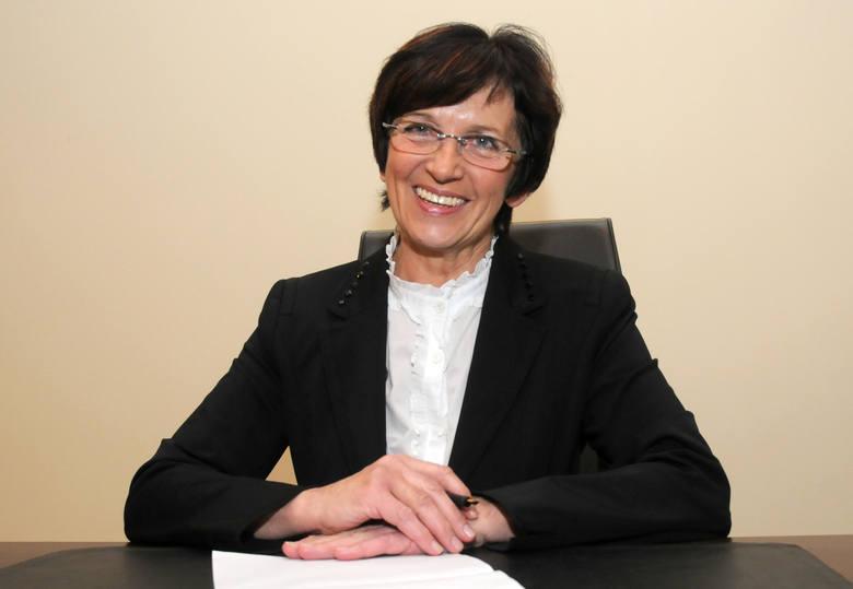Ewa Mes (PSL) wojewoda kujawsko-pomorski od 14 grudnia 2010 r. do 8 grudnia 2015 roku