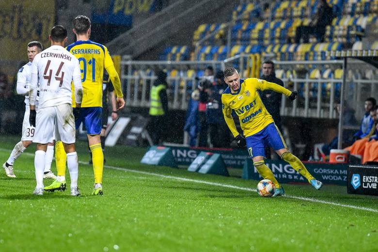 MARCIN BUDZIŃSKI (Arka Gdynia)Klub zmienił na początku sierpnia, w trakcie rundy jesiennej wypadł z gry na półtora miesiąca z powodu kontuzji. W sumie: