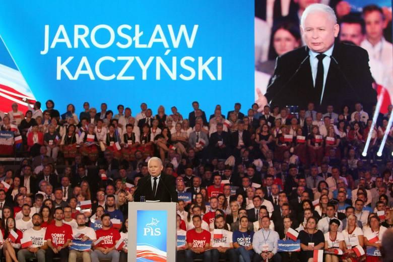W sobotę odbyła się konwencja wyborcza Prawa i Sprawiedliwości. W czasie swojego przemówienia prezes PiS, Jarosław Kaczyński zapowiedział kolejny wzrost