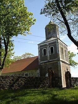 Kościół parafialny w Krępcewie.