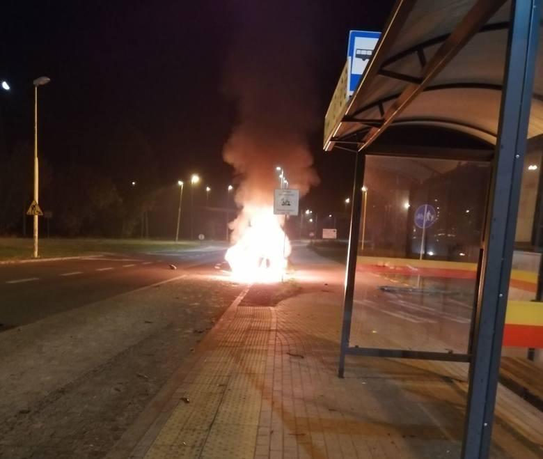 Funkcjonariusze policji z Wydziału Ruchu Drogowego Komendy Miejskiej Policji w Łodzi poszukują pasażerów citroena C5, samochodu, który w nocy z soboty
