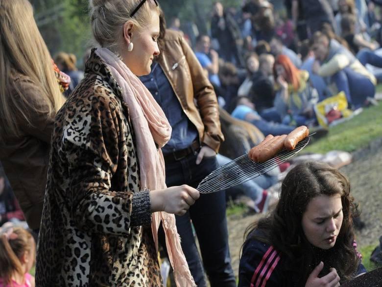 Blokada Łużyka 2014 - tysiące studentów, setki grilli i muzyka