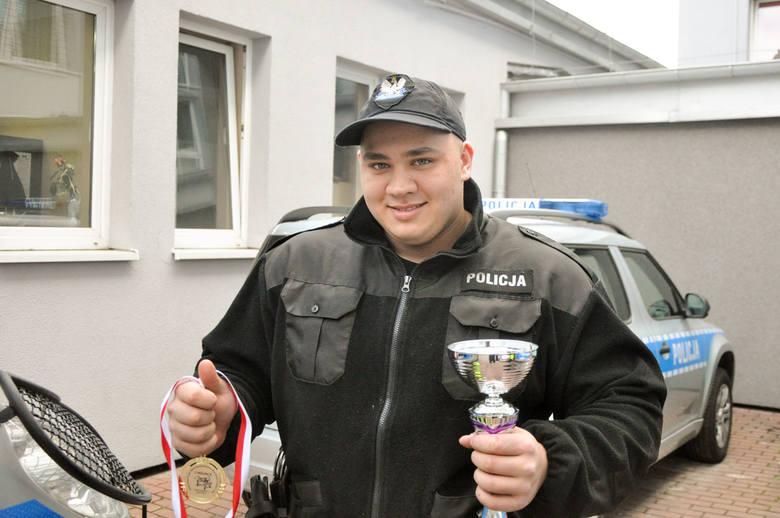 Sukces gorzowskiego policjanta na zawodach. Wycisnął aż 210 kg